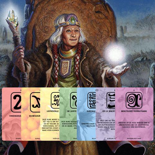 Runen kaarten set